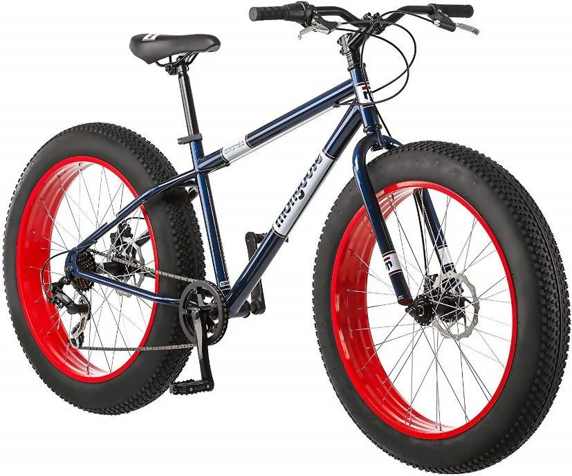 mongoose fat tire mountain bike