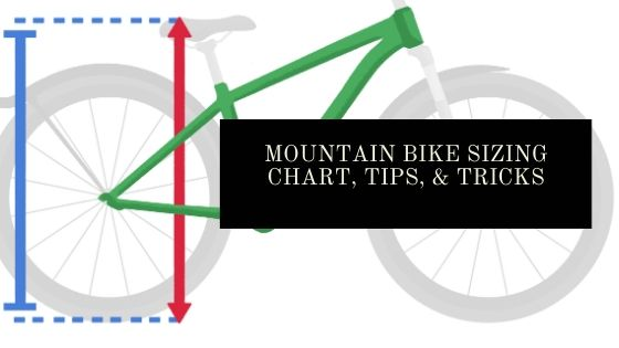 mountain bike sizing chart blog header