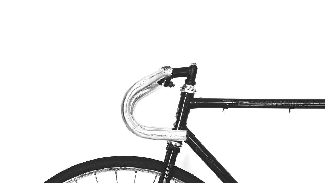 Other Mountain Bike Frame Materials: Steel and Titanium: Image of steel mountain bike frame