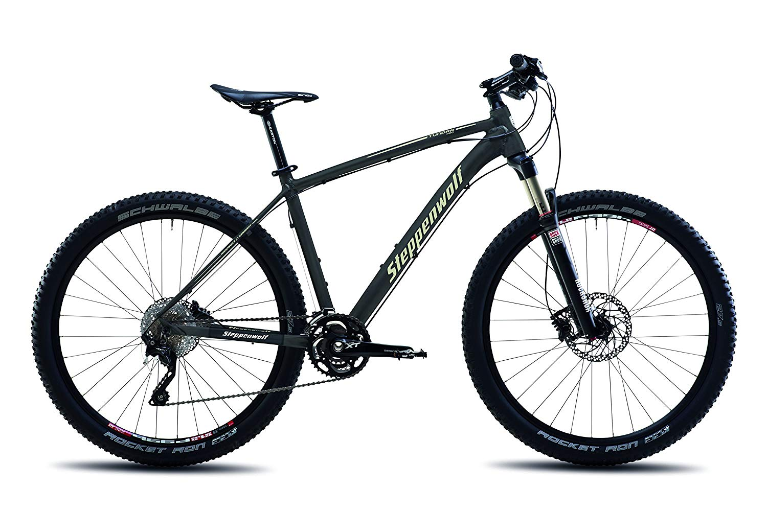 Weight of a Carbon Mountain Bike vs. Aluminum: Image of Steppenwolf high-speed downhill