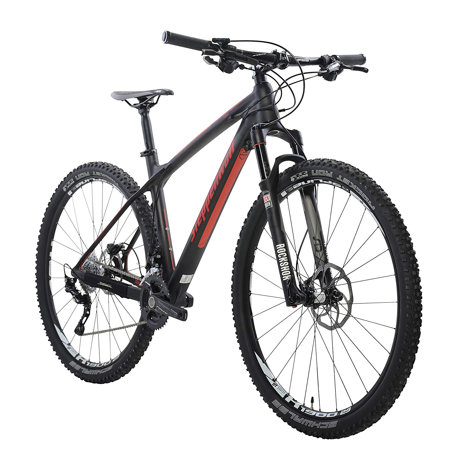 Weight of a Carbon Mountain Bike vs. Aluminum: Image of Steppenwolf 22.4 lb mountain bike