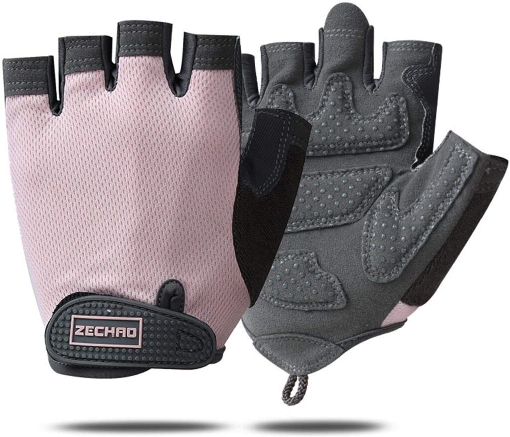 Breathable biking gloves can reduce vibration in your wrists and increase grip
